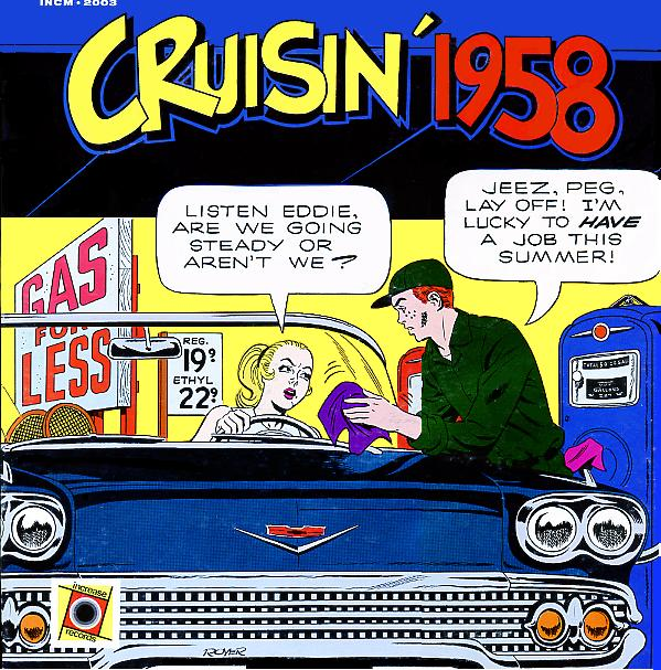 CRUISIN' 1958, Jack Carney, WIL, St. Louis MO