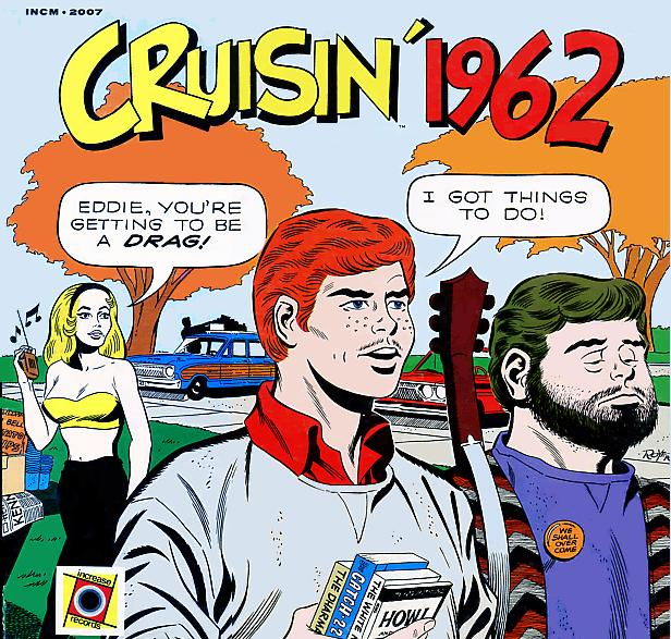 CRUISIN' 1962 - Russ 'Weird Beard' Knight - KLIF, Dallas TX