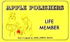 APPLE POLISHERS (LIFE MEMBER)