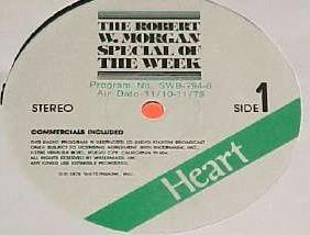 Special Of The Week Heart label.