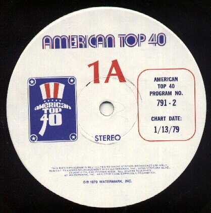WATERMARK ON THE WEB: AMERICAN TOP 40