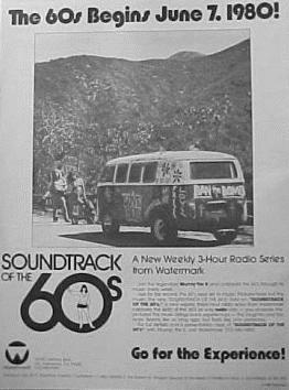 Promotional ad for SOUNDTRACK OF THE 60s